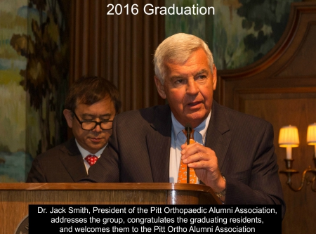 2016 Resident and Fellow Graduation | Department of